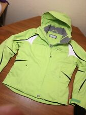Phenix Women's Thunderon Digenite Thermo Ski Jacket Hot Neon Green US Sz 8