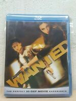 WANTED DVD - Blu Ray - James McAvoy Angelina Jolie