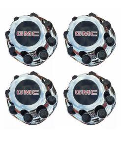 "4pcs. GMC Sierra Yukon VAN 1500 2500 3500 16"" Wheel  Center Caps Hub 8 Lug CAPS."