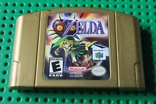 +++ NINTENDO 64 N64 LEGEND OF ZELDA MAJORA'S MASK GOLD TESTED NON HOLOGRAPHIC ++