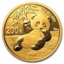 2020 China 15 gram Gold Panda BU (Sealed) - SKU#208657