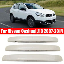 Painted White Rear Tailgate Boot Handle Lid Plate Trunk for Nissan Qashqai  k