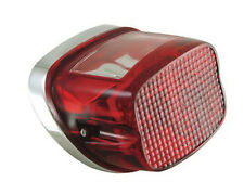 HARLEY TAIL LAMP LIGHT LENS. OE STYLE. MOST MODELS 1973-93