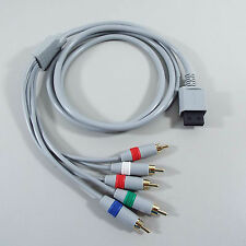 Component Cable HDTV AV High Definition Audio Video AV Cable FOR Nintendo Wii (T