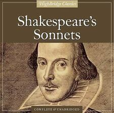 Shakespeare's Sonnets by William Shakespeare (2005, CD, Unabridged)