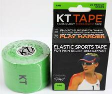 KT Tape Therapeutic Elastic Body Sports Tape Roll of 20 Strips - Cotton - L