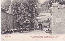 The Fox & Crown Inn & Queen Victoria's Rustic Chair, HIGHGATE, London