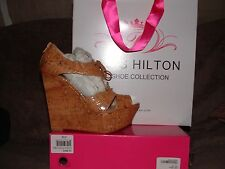 Paris Hilton Wedge With Laces size 39 m (8)