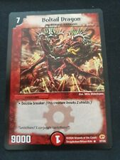 Duel Masters DM03 37/55 Boltail Dragon TCG Base Set Wizard of the Coast WOTC