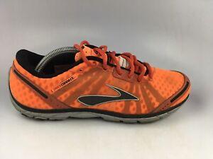 Brooks Men's PureConnect Lightweight Running Shoes Orange 1101081D867 Sz 10.5 D