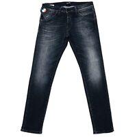 JACK & JONES Homme 'S Glenn Fox Slim Fit Taille Basse Gris Taille Du Jean W33