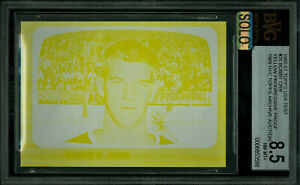 1966-67 TOPPS TEST PROOF # 35 BOBBY ORR RC BGS 8.5 MAC SOLO FINEST GRADE *