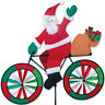 "Premier Kites and Designs 30"" Santa Claus Bicycle Spinner , #25996 SunTex Fabric"