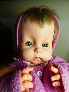 Vintage 1950's / 60's Chiltern BABYKINS doll, so cute!