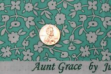 """""""TRIBUTE TO AUNT GRACE"""" QUILT FABRIC CIRCA 1930's BTY FOR MARCUS 6260-0314"""