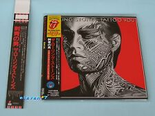 Rolling Stones Tattoo You JAPAN MINI LP CD + PROMO Obi Brand NEW & STILL SEALED