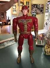 Turbo Man Action Figure Jingle All The Way Loose Talks And Lights Up Working