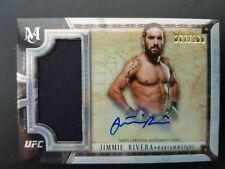 Topps ufc 2018 Museum Autograph relic Jimmie Rivera Numbered/260