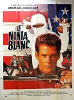 Plakat Kino Le Ninja Weiß Michelangelo Dudikoff - 120 X 160 CM