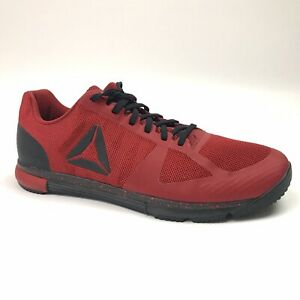 Reebok Mens Speed TR 2.0 Training Shoes Size 8 Magma Red Black CN1008