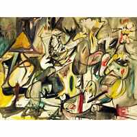 Gorky Arshile Abstract Expressionist Painting Extra Large Art Poster