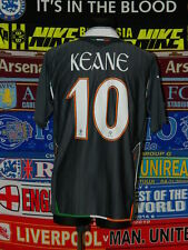5/5 Ireland (Eire) adults XL 2006 #10 Keane football shirt jersey soccer
