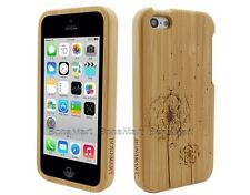 BONAMART Dandelion Natural Bamboo Case Hard Wood  Case For iPhone 5C 23165
