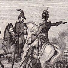 Général PIERRE ANDRÉ MIQUEL Béziers Napoléon Bonaparte Bad Kreuznach 1825