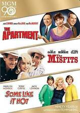 The Apartment/The Misfits/Some Like It Hot (Dvd, 2014, 3-Disc Set)