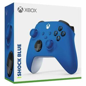 Microsoft QAU-00001 Xbox Series X Wireless Controller, Shock Blue GA
