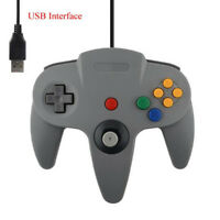 Wired Gamepad Joystick Joypad Game Controller For Nintend N64 PC Android