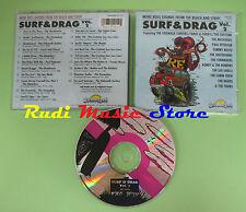 CD SURF & DRAG VOL 2 compilation 1993 SHUTDOWNS TORNADOES MATADORS (C21) no mc