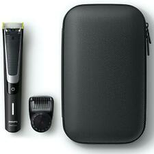 Philips OneBlade Pro Hybrid Beard Trimmer & Shaver, 12-Length Comb & Travel Case