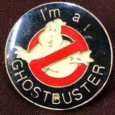 Stantz Spengler Bill Murray Dana Barrett Vintage I'M A Ghostbuster Pin Venkman