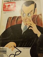 TV  Guide Dec 4 1976 Tony Randall