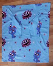 Moshi Monsters Fleece Snuggle Blanket with Sleeves