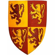 More details for medieval warrior steel owen glendower prince of wales shield / halloween gift