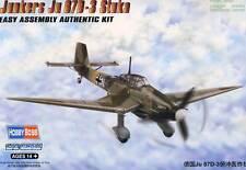 HobbyBoss Junkers Ju-87D-3 Stuka 4. & 9.St.G 77 1943-44 Modell-Bausatz 1:72 kit