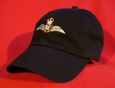 ROYAL CANADIAN AIR FORCE Pilot Wings Ball Cap, low-profile embroidered BLACK hat