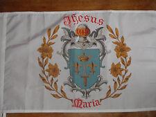 DRAPEAU grandes armes de jeanne d'arc blason flag bandiera saint jeanne orleans