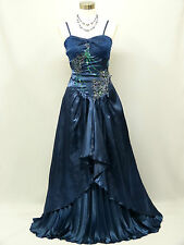 Cherlone Blue Ballgown Wedding Evening Bridesmaid Formal Full Length Dress 8-10