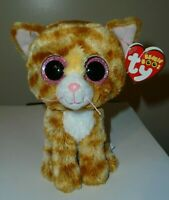 CT* Ty Beanie Boos - TABITHA the Cat (6 Inch) MINT with CREASED TAG