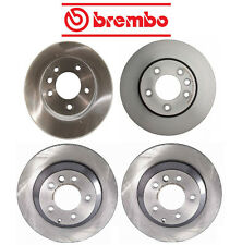 NEW VW Touareg 2004-2014 BREMBO Front and Rear Disc Brake Rotors KIT 330mm OD