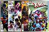 Uncanny X-Men #1 + Variant Set of 4 (2018) Marvel VF/NM to NM