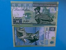 10 dollars Pitcairn Islands 2018 A series SPECIMEN Matej Gabris Banknote
