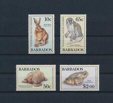 LO68911 Barbados animals fauna flora wildlife fine lot MNH