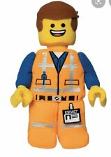 "NEW The LEGO Movie 2 Plush - EMMET 13"" Stuffed Toy NWT READY TO SHIP IMMEDIATELY"