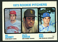 Doug Rau #602 signed autograph auto 1973 Topps Baseball Trading Card