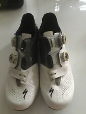 Specialized S-Works 6 Road Shoes size 43 / 9.5 (US) White