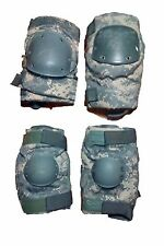 Lot of 2 US ARMY Military Surplus ACU Tactical Elbow Knee Pads Very Good MEDIUM